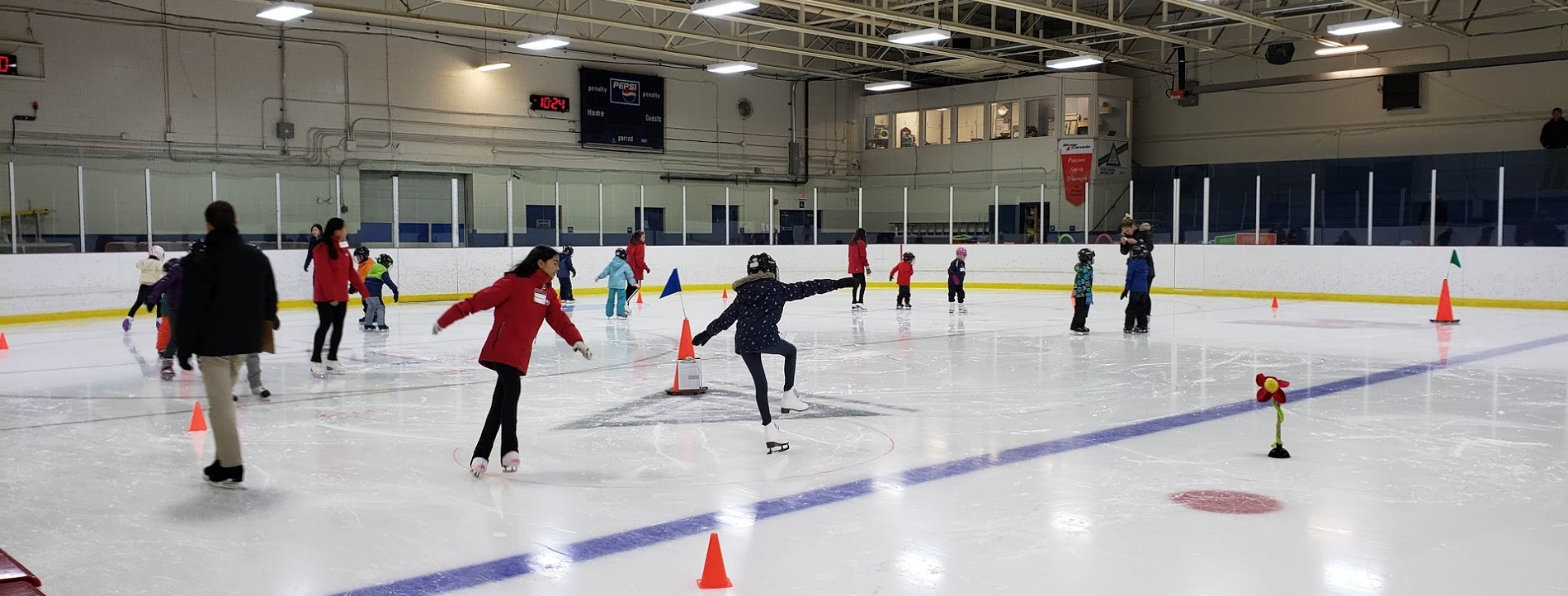 Our Learn to Skate program welcomes skaters of all types